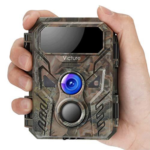 Victure Mini Caméra de Chasse 16 MP 1080p avec...