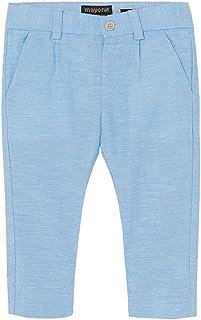 Mayoral Pantalón de lino elegante para niño.