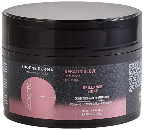 ESSENTIEL Keratin Glow Masque Brillance pour Tous Types de Cheveux, Banane, 150 ml