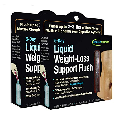 Applied Nutrition 5-Day Liquid Weight Loss Support, 10 Tubes (Pack of 2)