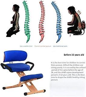 Knästolar Multifunktionell stol med knäskydd Balansstol Datorstol Kontorsstol Skrivbordsstol Ergonomi med ryggstöd med höj...