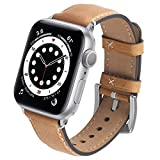 Best High End Apple Watch Bands - GerbGorb Leather Apple Watch Strap 42mm 44mm 38mm Review
