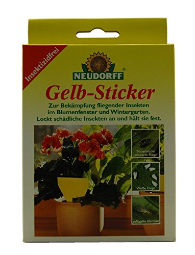Neudorff Gelb-Sticker (5 Stück)