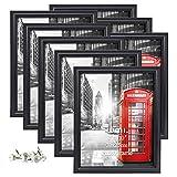 UMI. Essentials Marco de Fotos 20 x 25 cm Set de 8, Negro