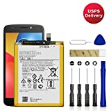 for T-Mobile Motorola Moto E5 Plus XT1924-7 Replacement Battery, for SNN5989A Battery with Adhesive Tape Tool Repair Kit