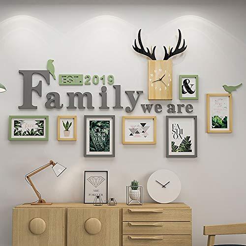 HY&PPJQ Pared Foto,Decoración Sala de Estar Creativo Personalidad ...