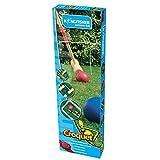 Set de crocket - 4 mazos de madera(72cm), 4 bolas, 2 estacas, 10 arcos - Juego Familia Jardín