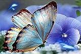JBZC Rompecabezas de Madera de 4000 Piezas butterfly-4000 Puzzle 4000 Piezas Juguete Regalo para Niños Adultos