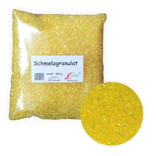 Creleo Schmelzgranulat - Schmelzolan 200g gelb