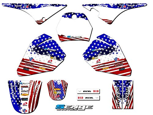 1990-2017 PW 80, Merica Complete kit, Senge Graphics, Compatible with Yamaha