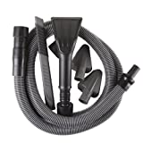 WORKSHOP Wet/Dry Vacs Vacs WS12552A 1-1/4-Inch Premium Auto Cleaning Kit for Wet Dry Shop Vacuum, Black