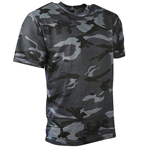Kombat UK T-Shirt Camouflage pour Homme M Bleu Nuit