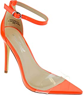 783e91903239 Anne Michelle Exception 10 Womens Single Band Open Toe Platform Heeled  Dress Sandals