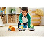 Kid Playing with Green Toys Construction Vehicle (3 Pack)