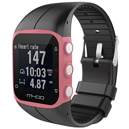 XIHAMA Band voor Polar M400 M430 Sport Horloge, Siliconen Vervangende Band Polsband Fitness Armband