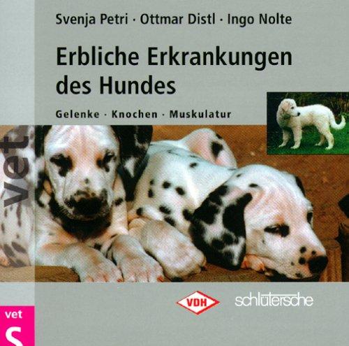 Erbliche Erkrankungen des Hundes, 1 CD-ROMGelenke, Knochen, Muskulatur. Für Windows 95/98/ME/2000/NT 4.0. In Zus.arb. m. d. Verband f. d. Deutsche Hundwesen e.V.