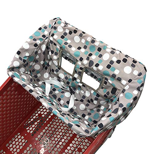 Portable Shopping Cart Cover | High Chair and Grocery Cart Covers for...