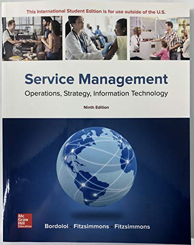 ISE Service Management: Operations, Strategy, Information Technology