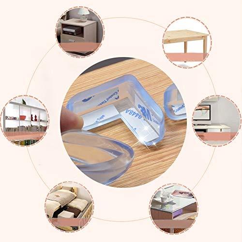 Kikier Protections d'angle transparentes pour meubles, lits, commodes, armoires, centres de divertissement