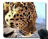 Yanteng Cojín de ratón, Leopardo, Leopardo, Goma Antideslizante del depredador Mousepad