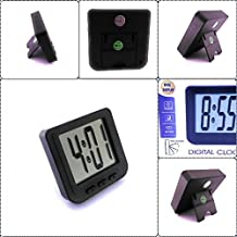 Supermall New Digital Car Clock Use For Car, Office, Home, Others (Clock In Attached Behind Magnet)