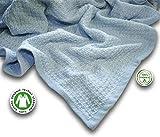 Zoog - Manta de algodón orgánico de calidad premium con certificado GOTS no...