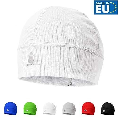 meteor Muts onder Fietshelm Skihelm - Rennende hoed - Beanie perfect voor heren dames jeugd kinderen - Unisex - One size - Ghost