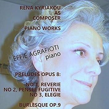 Rena Kyriakou Piano Works