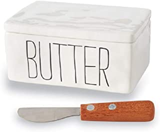 mud pie butter dish