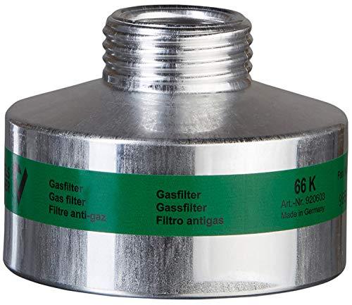 BartelsRieger K2 Gasfilter | Atemschutz-Schraubfilter gegen Ammoniak | Rd40 Gewindeanschluss