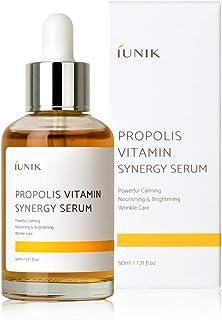 iUNIK Propolis Vitamin Synergy Serum Natural 1.71 Fl Oz - Propolis, Fruit Extract - Deep Nourishing, Deep Hydration, Anti-aging & Brightening