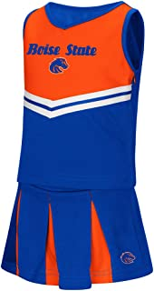 Colosseum Boise State Broncos NCAA Toddler Pom Pom 2 Piece Set Cheerleader Outfit
