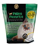 Feline Favorite FF10 Premium All-Natural Clumping Cat Litter, 10-Pound Bag
