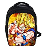 13 Inch Dragon Ball Z Sun Goku Backpack Kids Backpack Children School Bags For Boys Girls Daily Backpacks Students Bag
