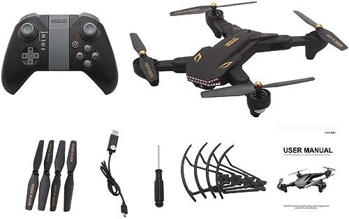GreatWall VISUO XS809S RC Drohne WiFi FPV Selfie Kamera H nlage Halten Faltbare Quadcopter Schwarz