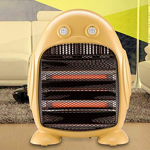For Sale! DW&HX Portable Electric Space Heater for Bedroom, Mini Overheat Protection Quartz Fan Heat...