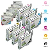LD Remanufactured Ink Cartridge Replacements for Epson 48 (Black, Cyan, Magenta, Yellow, Light Cyan, Light Magenta, 6-Pack)