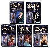 Buffy the Vampire Slayer 3 3/4' Figure Set: Buffy, Willow, Oz, Spike, Gentleman
