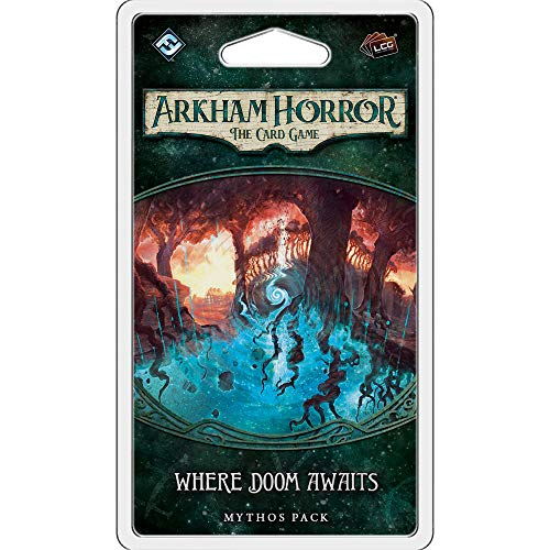 Fantasy Flight Games ACH07 Arkham Horror: The Card: Where Doom Awaits Mythos Pack, Mehrfarbig