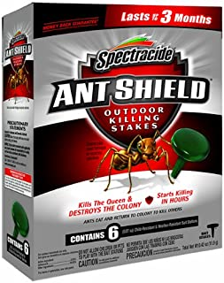 Spectracide 95597-1 6 Count Ant Shield Outdoor Killing Stakes, Pack of 6