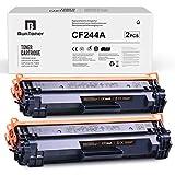 BunToner Kompatibel HP 44A CF244A Toner für HP Laserjet Pro M16 M15 HP Laserjet MFP M28 M29 Drucker(2 Schwarz)
