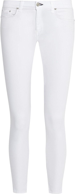 Rag & Bone Skinny Jeans In Bright White 26