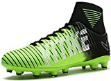 VITIKE Kids Soccer Cleats Shoes Boys Youth Cleats Football Boots High-top Cleats for Soccer