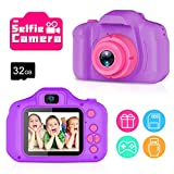 Yoophane Upgrade Kids Camera Best Gifts for 3-6 Year Old Girls, Kids Selfie Camera, HD Digital Video...