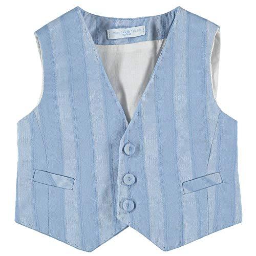 MANUELL&FRANK Braga de algodón azul para bebé MF5113I azul claro 18M