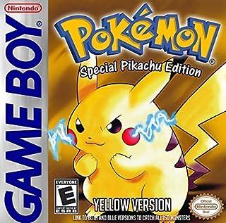 Pokémon Yellow: Special Pikachu Edition [Game Boy] [Producto Importado]