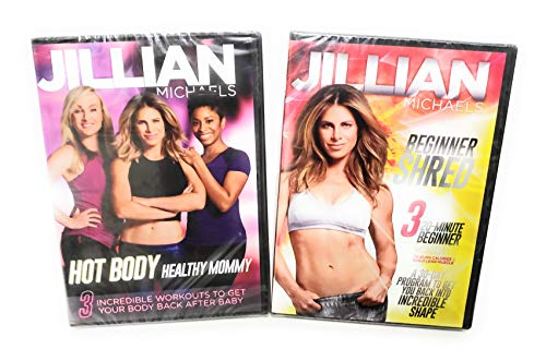 = The New Jillian Michaels Healthy Mommy 2 DVD Set