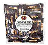 CrazyOutlet Hershey's Heath Milk Chocolate English Toffee Snack Size Bars, Bulk Pack 2 Lbs [COOL-PACK INCLUDED]