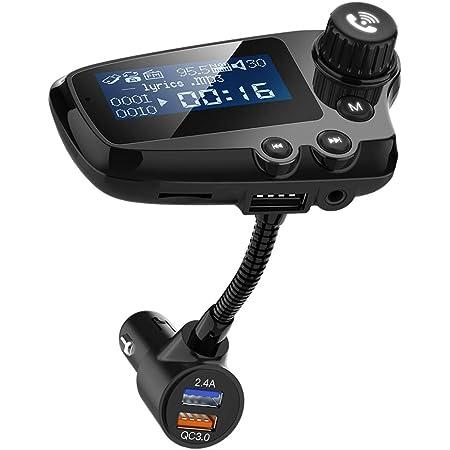 Wodgreat Fm Transmitter Bluetooth Adapter Auto Wireless Elektronik