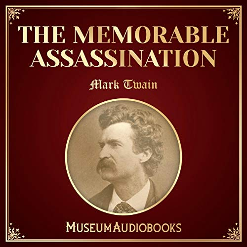 The Memorable Assassination audiobook cover art
